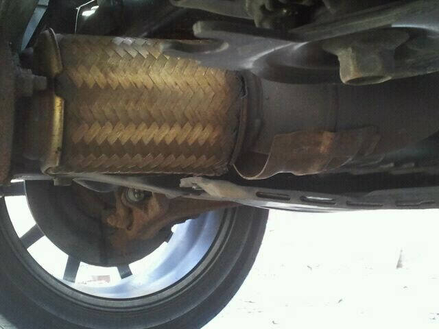 Click image for larger version Name 2013-04-29_14.48.05 (1 & Stock Flex Pipe Separating? - Acura TSX Forum