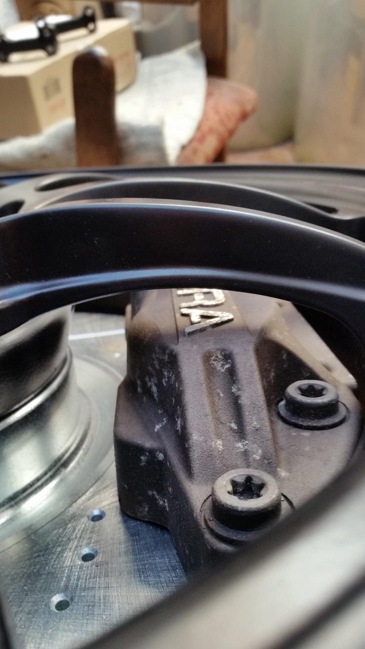 TSX with RL caliper project (Caliper Rebuild) - Acura TSX ...