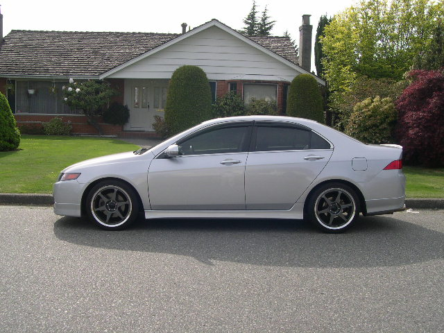 What Rims Are These Acura TSX Forum - Acura tsx rims 18