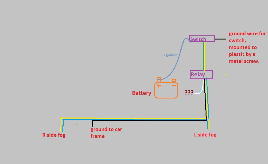 JDM ebay Fog light install, help? [Wiring Diagram added] | Acura TSX Forum | Acura Fog Lights Wiring Diagram |  | Acura TSX Forum