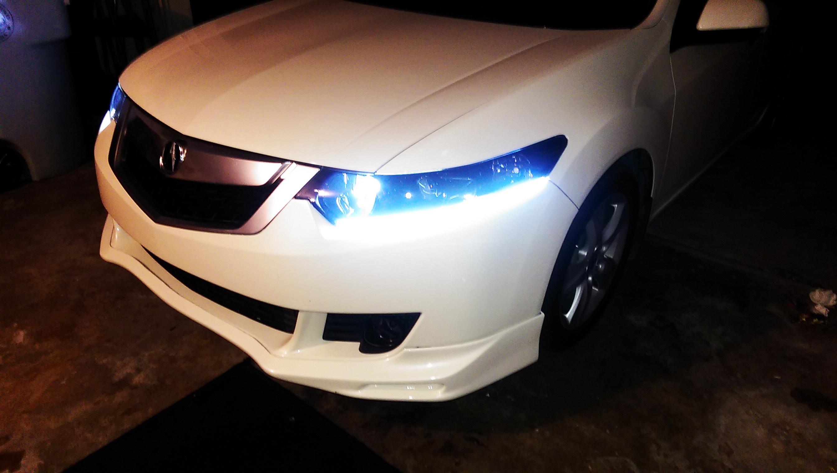 Best Looking Aftermarket Headlight Help Tsx Acura TSX Forum - Acura tl halo headlights