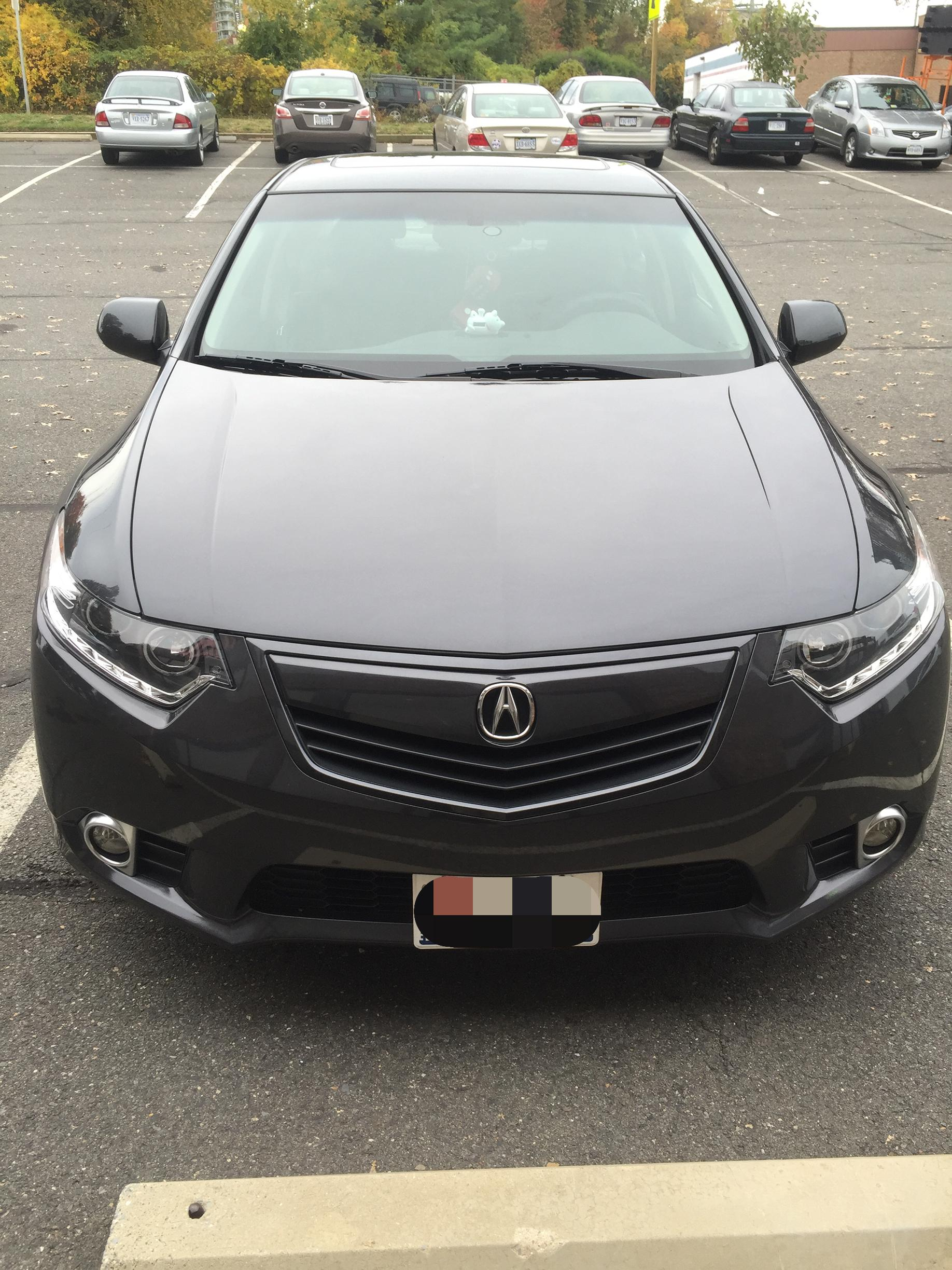 Paint Match My Grill Or Leave As Stock Acura TSX Forum - 2018 acura tsx grille