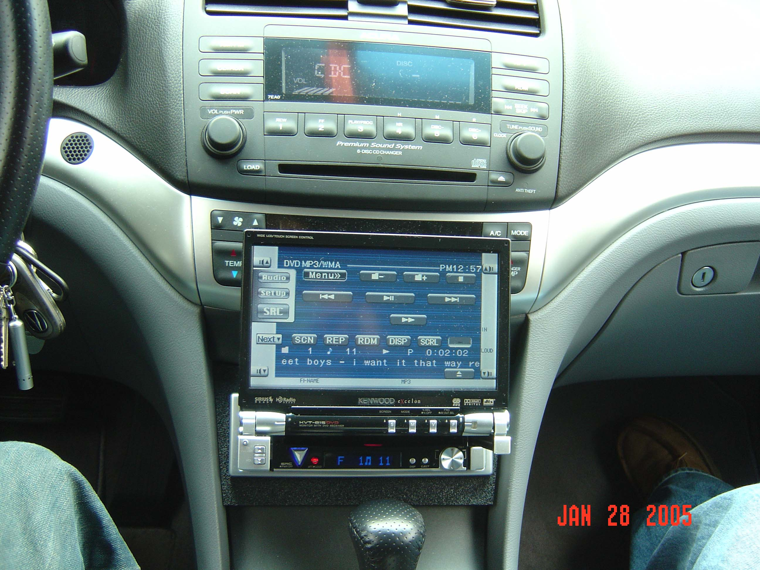 Possible To Install Navigation After Acura TSX Forum - 2005 acura tsx aftermarket radio