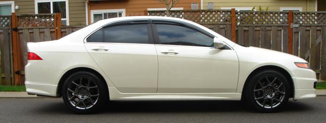 Acura TL Type S Wheels On My TSX Acura TSX Forum - Acura type s wheels