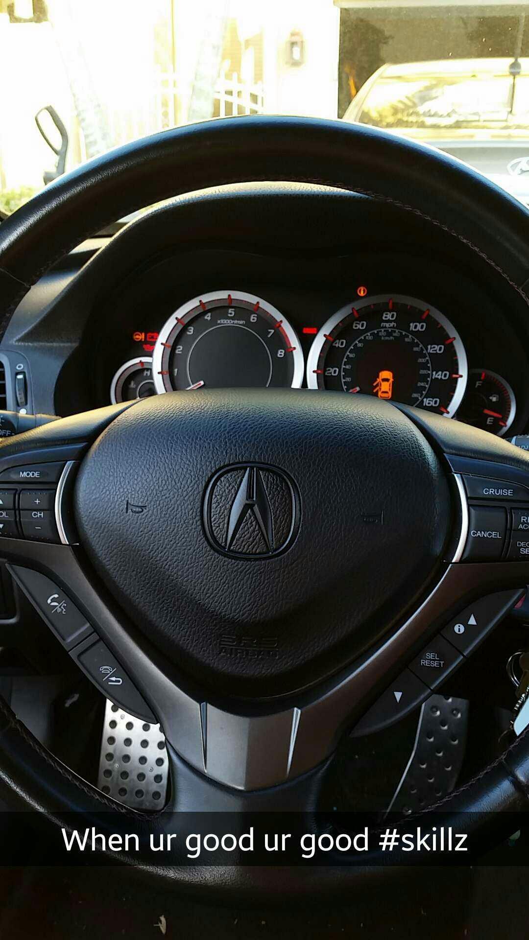 Acura Steering Wheel Logo Fading Acura Tsx Forum