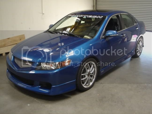 Pics / Dyno Video / Chart - Supercharged TSX at Comptech (No