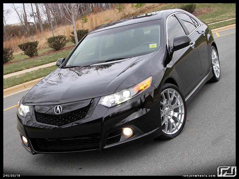2011 Acura Tsx Black Rims