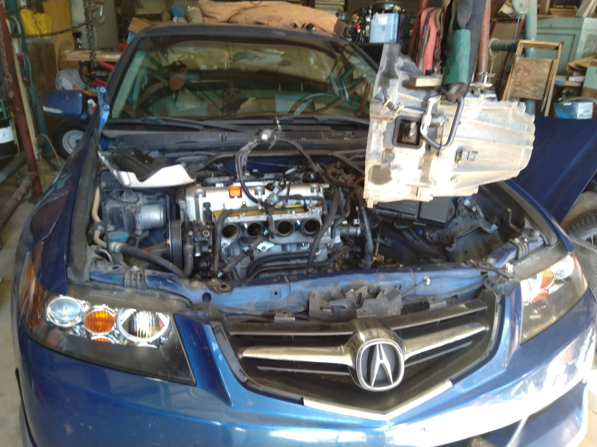 How to Swap the Transmission WITHOUT Dropping the Subframe | Acura